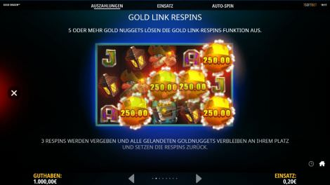 Gold Link Respins