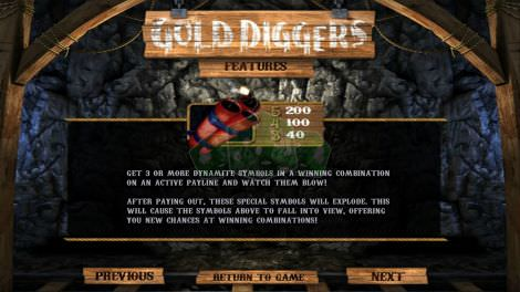Gold Diggers Features