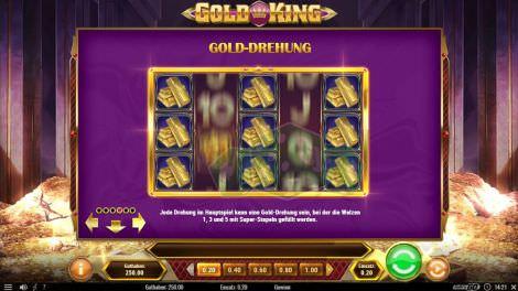 Gold Drehung