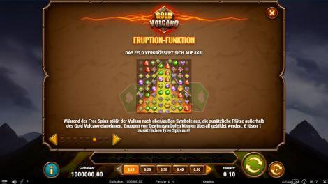 Eruption Funktion