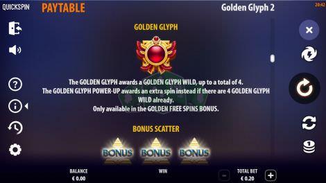 Golden Glyph Wild