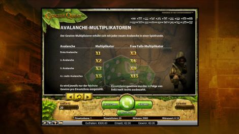 Avalanche Multiplikatoren