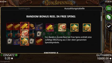 Random Bonus Reel