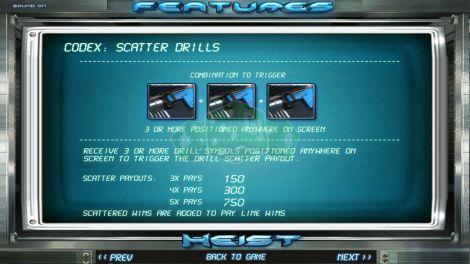 Scatter Drills