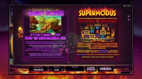 Quest Bonus & Supermodus