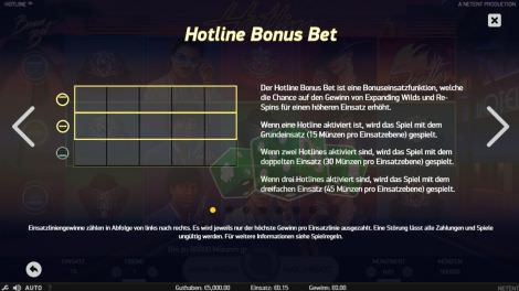 Hotline Bonus Bet