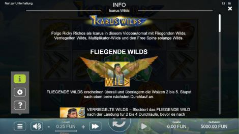Fliegende Wilds
