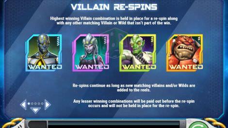 Villain Respins