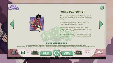Purple Haze Funktion