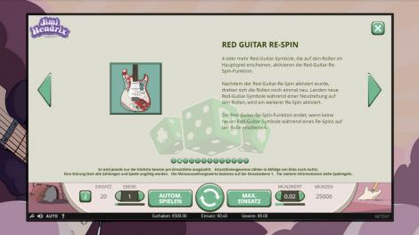 Red Guitar Re Spin