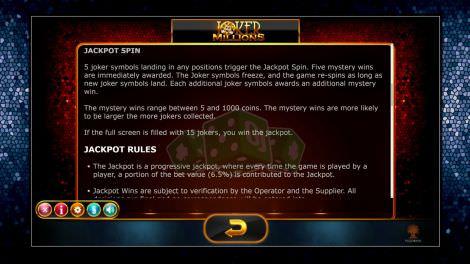 Jackpot Regeln