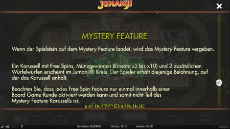 Mystery Feature