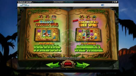 Colossal Spins - Bagheera Free Spins