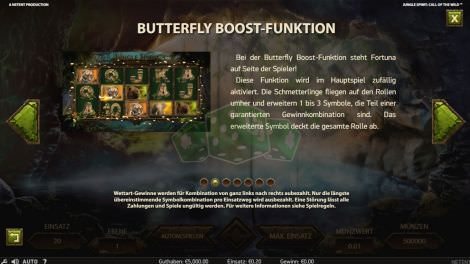 Butterfly Boost Funktion