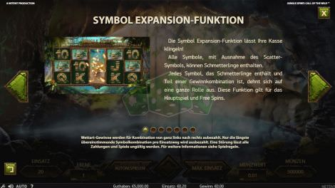 Expansion Funktion