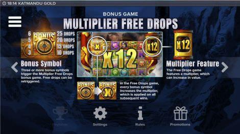 Multiplier Free Drops