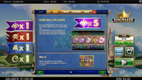 Gem Multipliers