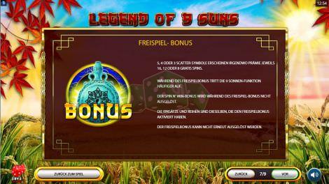Freispiel Bonus