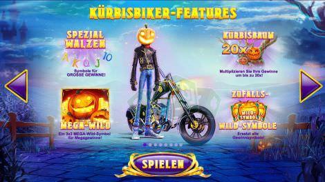 Kürbisbiker Features