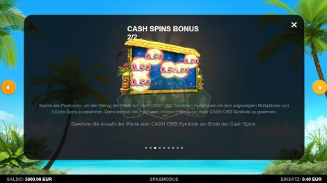 Cash Spins Bonus
