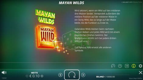 Mayan Wilds