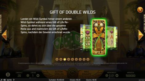 Gift of Double Wilds