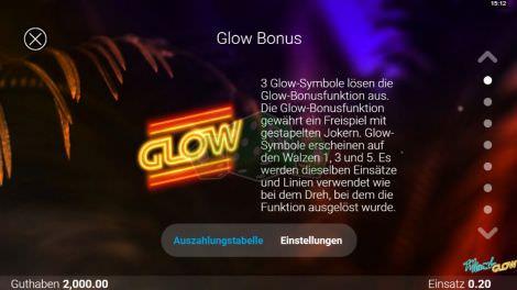 Glow Bonus
