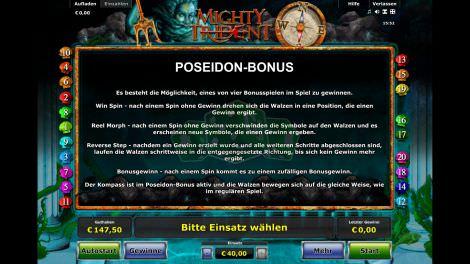 Poseidon Bonus