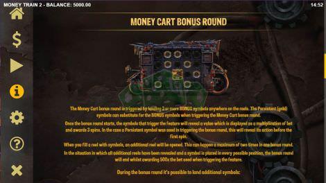 Money Cart Bonus Round