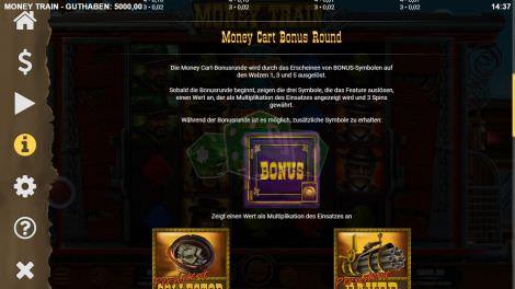 Money Cart Bonus