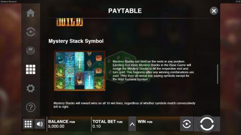 Mystery Stack Symbol