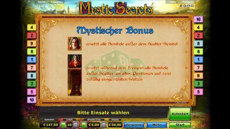 Mystischer Bonus