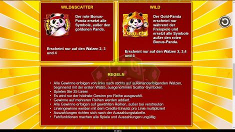 Wild und Scattersymbol