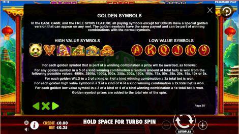 Golden Symbols