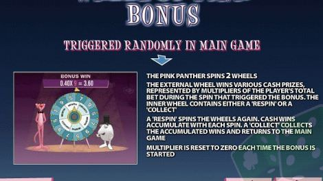 Wheel of Pink Bonus