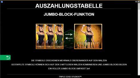 Jumbo Block Funktion