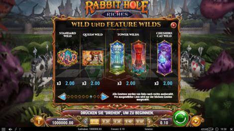 Wild und Feature Wilds