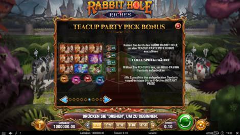 Teacup Party Pick Bonus