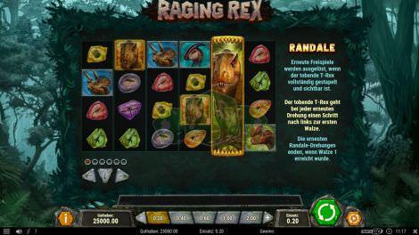 Das Randalee Feature bei Raging Rex