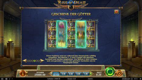 Geschenk der Götter bei Rise of Dead