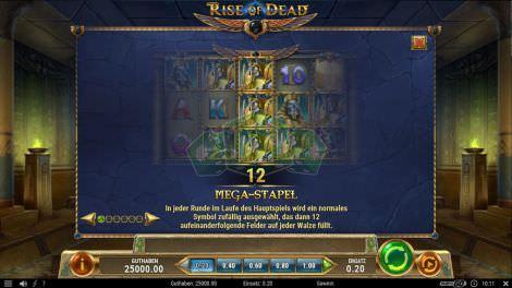 Megastapel bei Rise of Dead