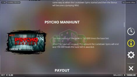 PSycho Manhunt