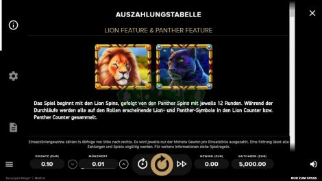 Lion & Panther Feature