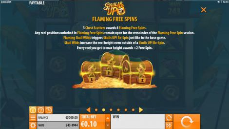 Flaming Free Spins