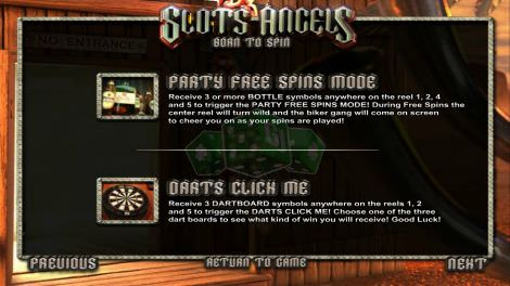Party Free Spins Mode & Darts Click Me