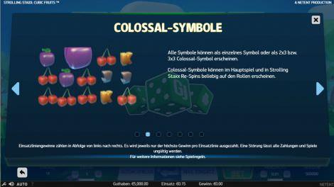 Colossal Symbole
