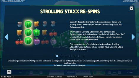 Strolling Staxx Re-Spins