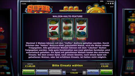 Walzen Halte Feature