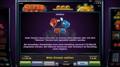 Gamblefunktionen