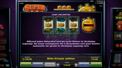 Cash Unlimited Feature